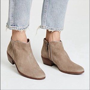 Sam Edelman Petty Chelsea Ankle Boots Putty Suede